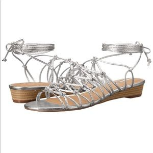 NWB Tahari Caper Wedge Sandal